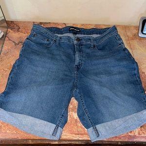 - DKNY denim shorts